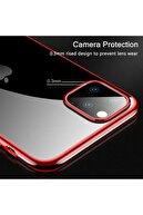 Apple Microsonic Iphone 11 Pro Max (6.5'') Kılıf Skyfall Transparent Clear Rose Gold