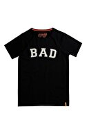 Bad Bear Siyah Erkek Tişört Bad Convex Tee Nıght