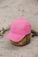 ÜN ŞAPKA Pembe Şapka- Arkası Ayarlanabilir Şapka
