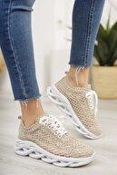 Moda Değirmeni Kadın Dantelli Sneaker