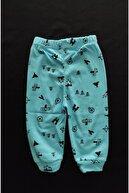 ALİSYUM 4 Adet %100 Pamuk Bebek Tek Alt Seti , Bebek Pijama Bebek Alt Giyim