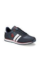 US Polo Assn PLUS WT 9PR Lacivert Erkek Sneaker Ayakkabı 100418098