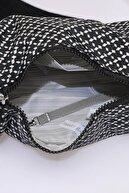 Smart Bags Smb3025-0127 Siyah/beyaz Kadın Çapraz Çanta