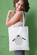 Çınar Bez Çanta Baskılı Bez Çanta