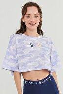 Penti Çok Renkli Bu4u Printed Crop Tişört