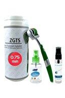 Zgts Green Line Dermaroller 0.75 mm Titanyum 540 İğneli Saç Yüz Cilt İçin Derma Roller