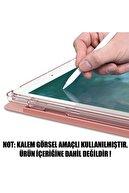 "Microsonic Microsonic Galaxy Tab S6 Lite 10.4"" P610 Kılıf Origami Pencil Rose Gold"