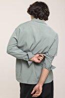 XHAN Mint Çift Cepli Gömlek 1kxe2-44509-58