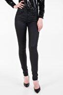 Guess Siyah Annette Skinny Fit Kadın Denim Pantolon