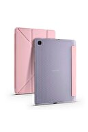 Samsung Galaxy Tab S6 Lite P610 Kılıf Kalemlikli Standlı Katlanabilen Maximum Koruma