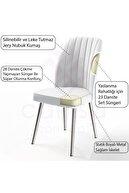 Canisa Concept Platinum Serisi Geniş Oturum Alanlı 1.sınıf Sandalye Renk Füme Ayaklar Parlak Krom