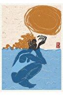 Nilol Print Summer, 29x42, Dijital Illüstrasyon, Fine Art Baskı