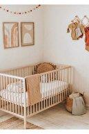 ÖZEL WOOD Ahşap Bebek Karyolası
