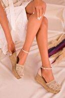 Soho Exclusive Ten Kadın Dolgu Topuklu Ayakkabı 16041