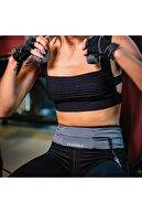 Freebelt Gri Yeni Nesil Spor Bel Çantası Koşu ve Fitness Kemeri