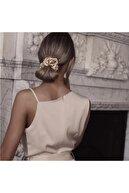 H&E DESIGN Kadın 3 ' Lü Saten Saç Lastik Toka Seti Tk0015