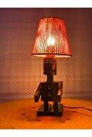 woodeens Masaüstü Robot Lambader