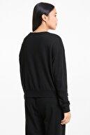 Puma MODERN BASICS CREW TR Siyah Kadın Sweatshirt 101085566