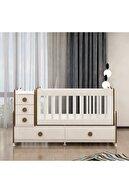 Garaj Home Melina Yıldız 3 Kapaklı Bebek Odası Takımı - Sümela