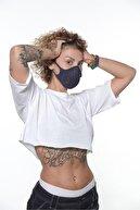 Oxyofficial Oxy 3'lü Ayarlanabilen Filtreli %100 Pamuklu Koyu Renkli Nano Yıkanabilir Maske Paketi