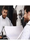 adisda Traş Önlüğü Saç Sakal Kesme Traş Önlüğü Tıraş Örtüsü Berber Önlük