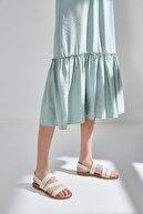 Yaya by Hotiç Hakiki Deri Kemık Kadın Sandalet 01SAY600470A400
