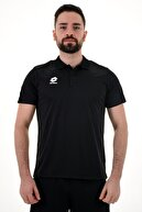 Lotto Siyah Polo T-shirt-athletıca Polo Camp Pl-r8942
