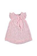 HelloBaby Yaz Kız Bebek Brodeli Dokuma Elbise