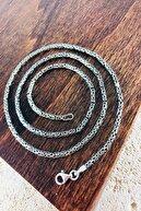 Sungurbey Gümüş Dünyası 925 Ayar Gümüş Erkek Kral Zincir (55 CM)