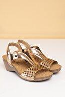 Pierre Cardin PC-1392 Rose Gold Kadın Sandalet