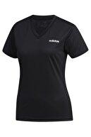 adidas W D2m Solid T Kadın Tişört