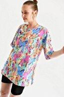 Bigdart 4166 Kadın  Çok Renkli T-shirt