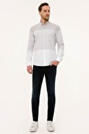 Pierre Cardin Açık Kahverengi Regular Fit Gömlek