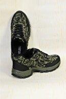 ROYJONES Erkek Haki Outdoor Trekking Yürüyüş Ayakkabısı Rj1000