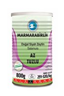 Marmarabirlik Az Tuzlu Siyah Zeytin 800 gr