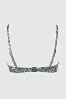 TRENDYOLMİLLA Çiçek Desenli Bralet Bikini Üstü TBESS21BU0040