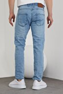 Tarz Cool Erkek Açık Mavi Slim Fit Jean Pantolon