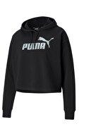 Puma Kadın Siyah Uzun Kollu  Sweatshirt