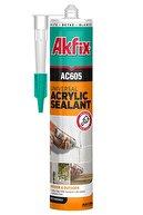 Akfix Ac605 Kokusuz Akrilik Mastik Beyaz 500gr.