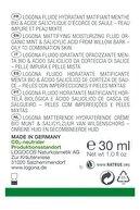 Logona Matlaştırıcı Etkili Gündüz-gece Nemlendirici Fluid-organik Nane Ve Salisilik Asit 30ml