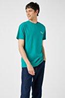 Koton Erkek Yeşil T-Shirt 1YAM11518HK
