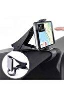 CMT Oto Araç Içi Telefon Tutucu Araba Tutacağı Siyah Gösterge Kıskaç