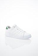 Pierre Cardin Kadın Günlük Spor Ayakkabı-Beyaz-Yeşil PCS-10144