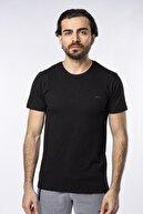 Slazenger Sand Erkek T-shirt Siyah St11te123