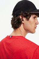 Tommy Hilfiger Erkek Kırmızı Strike Through T-shirt Mw0mw11803