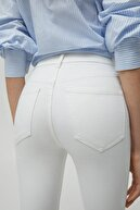 Pull & Bear Kadın Beyaz Pantolon