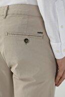Network Erkek Slim Fit Bej Normal Bel Casual Pantolon 1078149