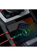 Baseus 3in1 Usb Type C-iphone Lightning- Micru Usb Şarj Kablosu Ve Düzenleyici