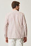 Altınyıldız Classics Erkek Kiremit Slim Fit Desenli Ceket