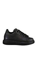 Soho Exclusive Siyah-Siyah Kadın Sneaker 15732